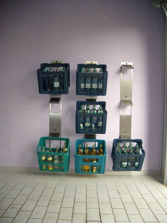 getränkekastenhalter: amazon.de: küche & haushalt   jan   pinterest