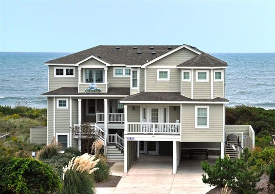 Twiddy outer banks vacation home the beach house ii for 9 bedroom beach house rental