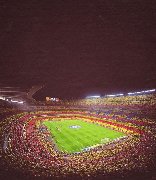 Ir a un juego del Barcelona en el Camp Nou