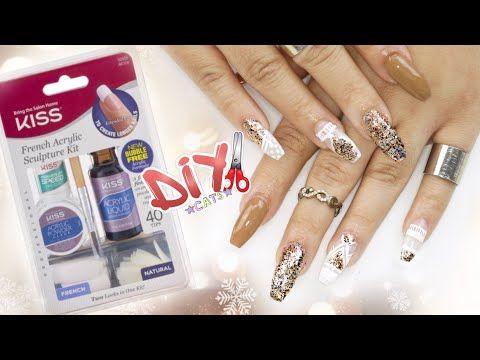 Kiss Acrylic Nail Kit Review And Demo Diy I Can Do My Own Nails Finally Acrylic Nail Kit Nail Kit Acrylic Nail Supplies