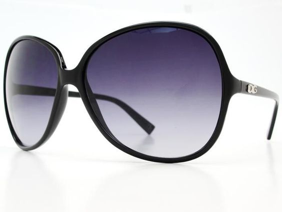 Womens oversized sunglasses O021 Black