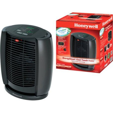 Honeywell Cool Touch Energy Smart Heater, Black