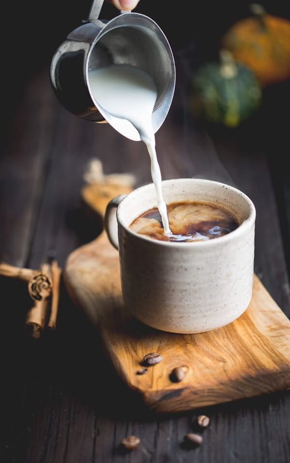 Try this Mexican coffee that is a mix of clove, cinnamon, and milk. For a twist, add pumpkin to bring the fall in.