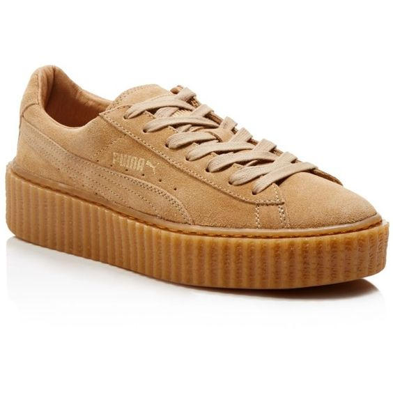 puma by rihanna suede creepers 120 liked on polyvore