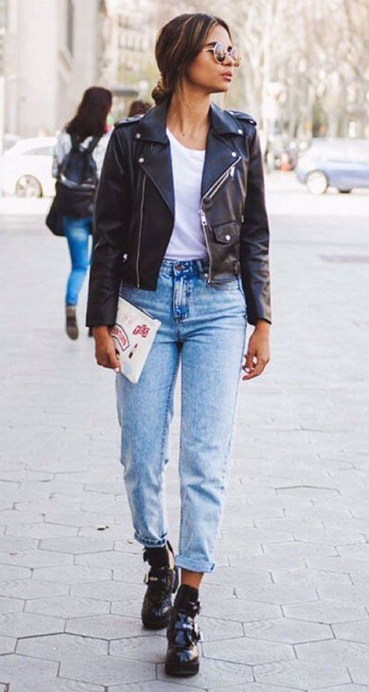Allonly Womens Fashion Relaxed Fit Boyfriend Straight Leg High Waisted Je Straight Leg Jeans Outfits High Waisted Jeans Outfit Winter High Waisted Jeans Outfit Flattering women's straight and regular jeans. high waisted jeans outfit winter