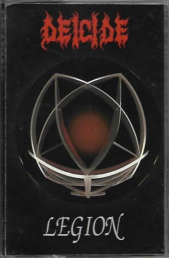 Deicide Legion Cassette Tape 1992 Rc Records Metal Blackgothicmetal Metal Music Bands Metal Albums Death Metal