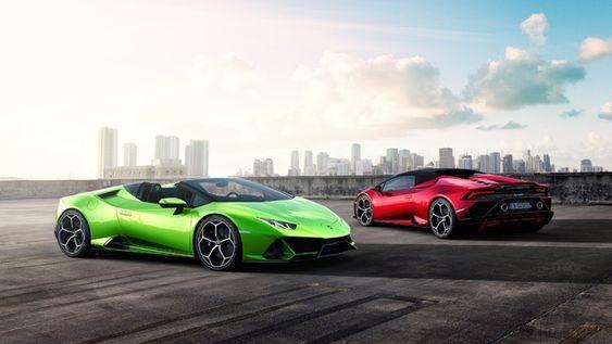 Lamborghini Huracan Evo Spyder Lets The Fresh Air In Lamborghini Huracan Geneva Motor Show Evo