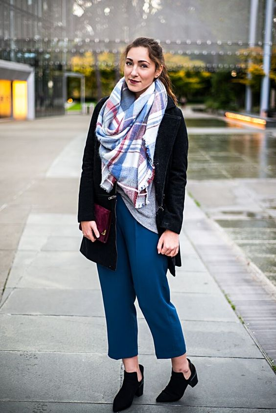 Style — Stylist in Seattle #trousers #blanketscarf #streetstyle