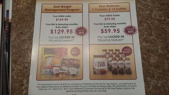 Get it ordered!! Special promo until March 31st 2014!! They are going quick! http://naturalhealing.zealforlife.com