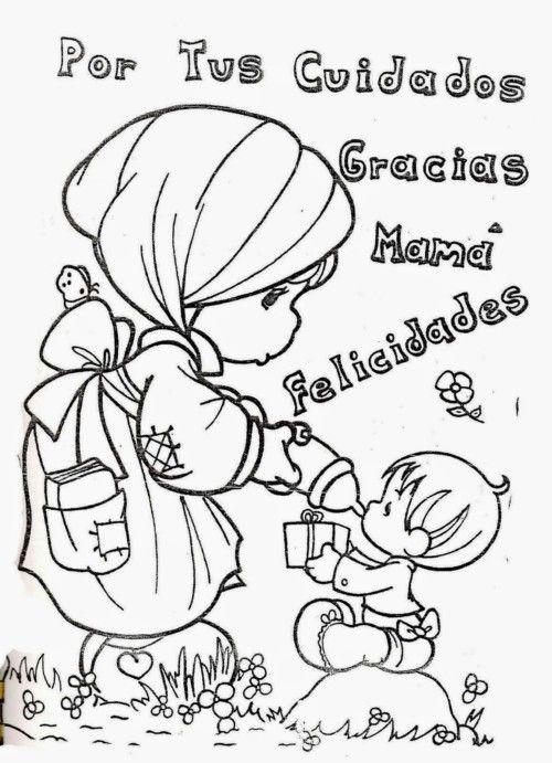 Imagenes Tiernas Con Mensajes Para Compartir En El Dia De La Madre