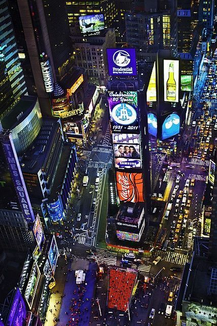 Times Square, NYC - no matter how many times I see a picture of New York or Times Square, I'm always amazed