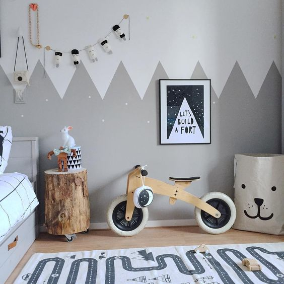 Boys Painted Walls And Scandinavian Style On Pinterest