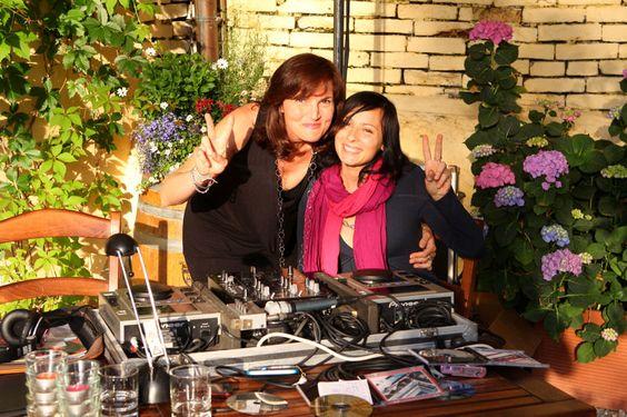 La villa hotel, DJs, setup, Mombaruzzo
