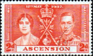 Ascension 1938 George VI SG 38 Fine Mint Scott 40a The Pier Other George VI Stamps HERE