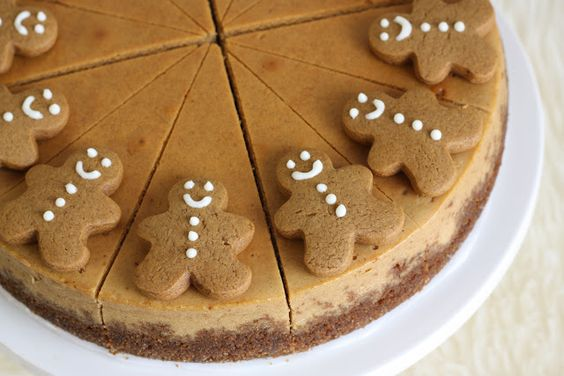 That Winsome Girl: Gingerbread Cheesecake