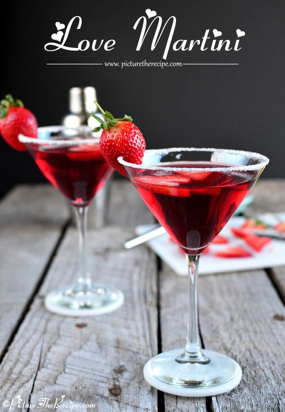 cocktails easy for valentine's day