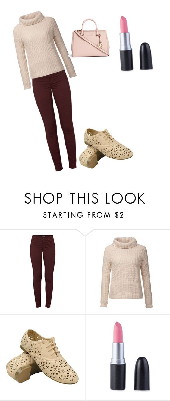 """""""Untitled #6"""" by aleahcrawford2027 on Polyvore featuring beauty, J Brand, Tommy Hilfiger and Michael Kors"""