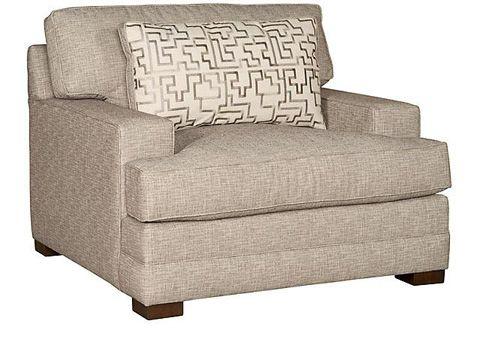 King Hickory  Morocco Fabric Chair