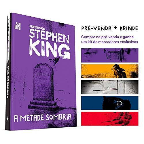 A Metade Sombria Colecao Biblioteca Stephen King Kit De