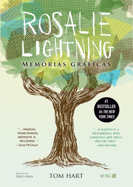 (Saraiva) Rosalie Lightning - Memórias Gráficas - R$48,90