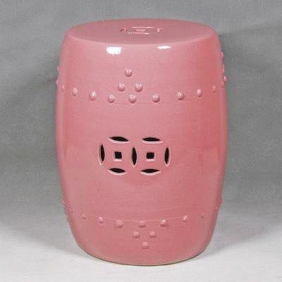 Good Pink Garden Stool