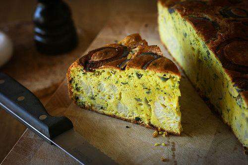 Cauliflower cake - from Yotom Ottolenghi