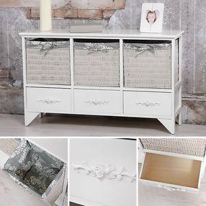 Comoda-aparador-de-estilo-rural-mueble-con-cajones-consola-cestas-armario
