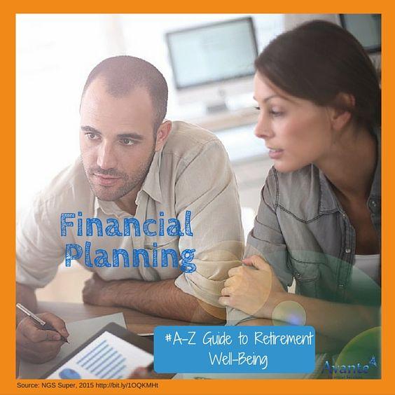 Your A to Z guide for transition to #Retirement! Letter F.  #FinancialPlan #Retirement  www.avantefinancial.com.au