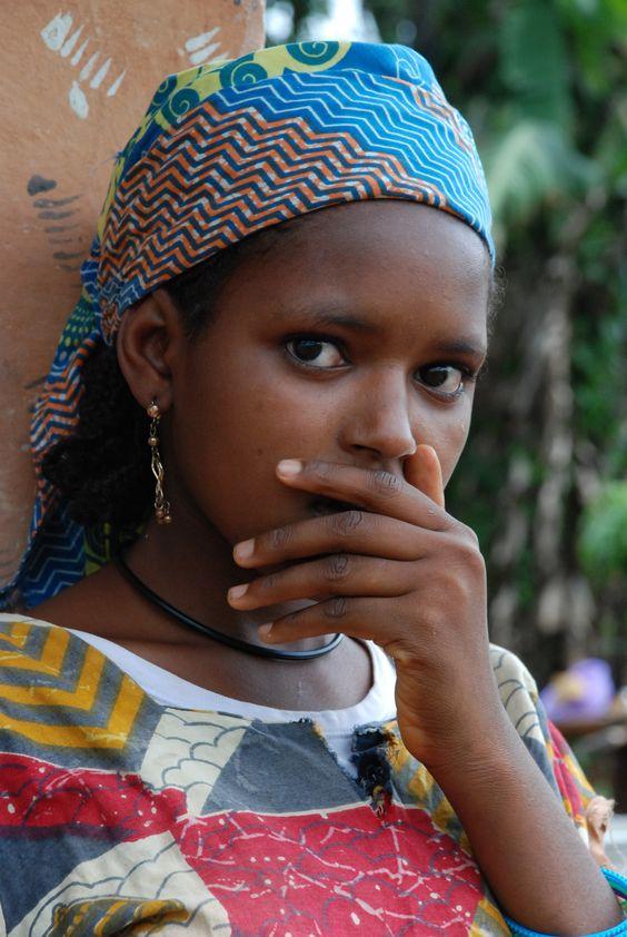 World Bedroom Furniture: Fulani Girl, Okpwa, Cameroon