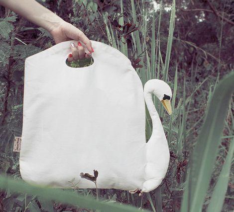 Isn't this bag by Mimi Pong so incredibly sweet?! Via @Joy Cho