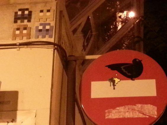 CLET » bird crap to no entry