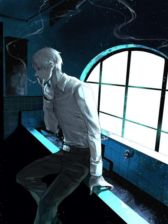 Gilbert - Art by 司 on Pixiv, found via Zerochan