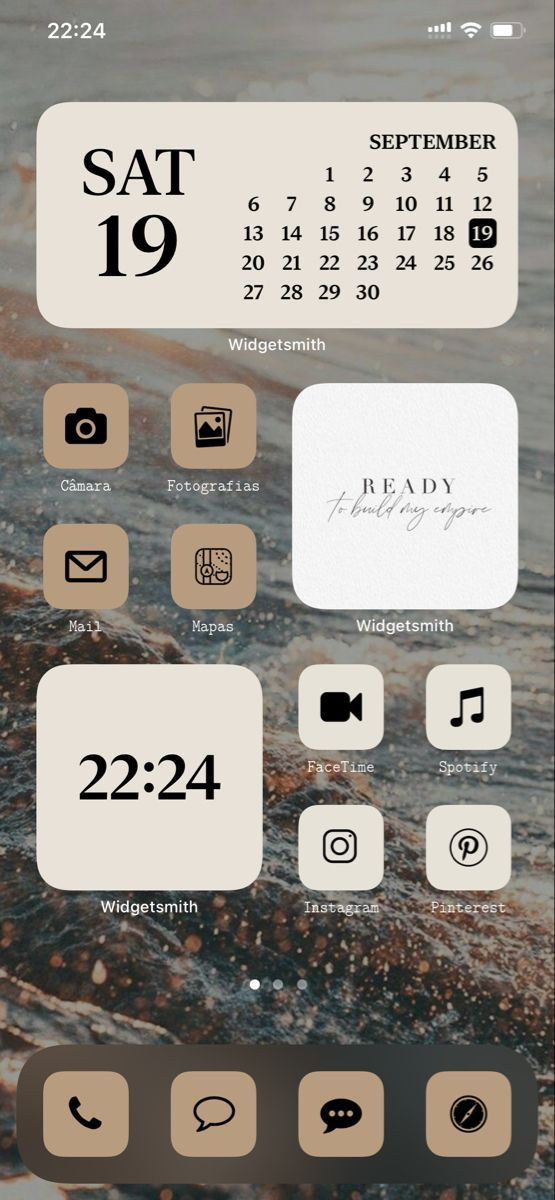 Ios 14 Aesthetic Home Screen Ideas Set Up Iphone Wallpaper App Iphone App Layout Homescreen Iphone And iphone users have wasted no time seeking inspiration on pinterest, as data from app analytics firms has shown in recent days. ios 14 aesthetic home screen ideas