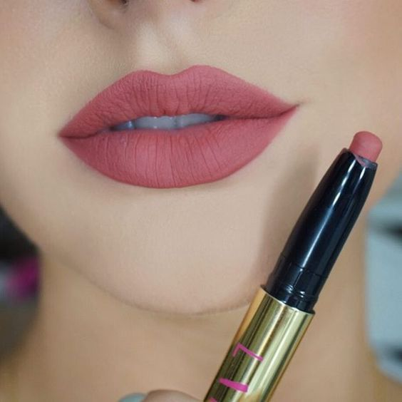 Obsessing with this matte lipstick by @liplandcosmetics in Kerrina  Use code Courtney for $$ off your order! #liplandcosmetics #teamlipland