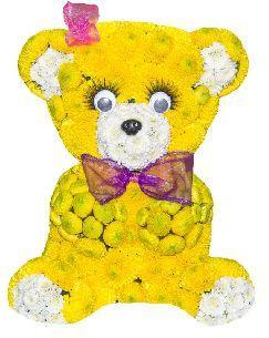 """Игрушка из цветов """"Цветочный мед"""" цена - Игрушки из цветов <- Цветы купить…"""
