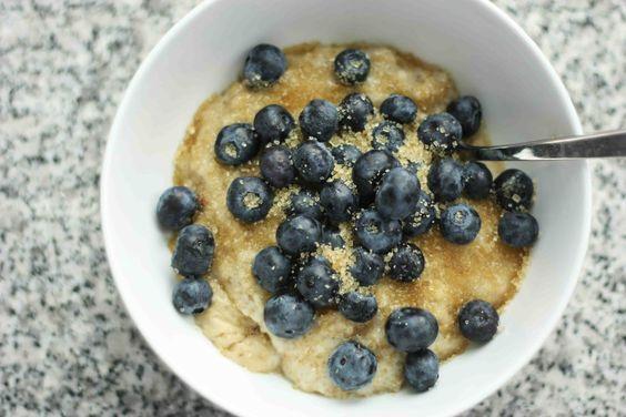 Tip? Add vanilla almond milk to steel cut oatmeal instead of water.