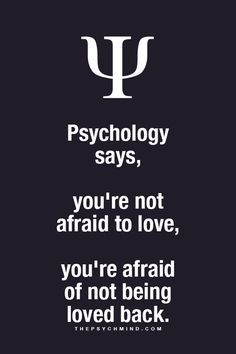 psychology facts about love