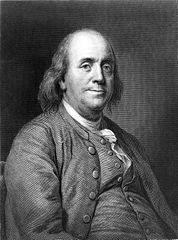 """One Today Is Worth Two Tomorrows."" --BENJAMIN FRANKLIN"