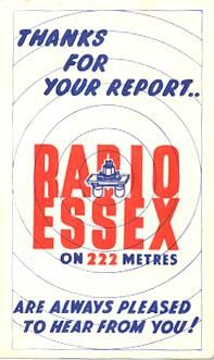 Radio Essex -- pirate