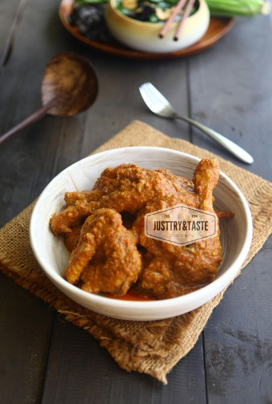 Resep Ayam Kapitan Jtt Resep Ayam Makanan Ayam