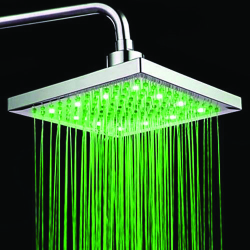 11 Perfect Shower Heads For Your Master Bathroom Led Shower Head Led Faucet Shower Heads