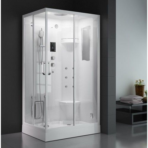 Springville Luxury Steam Shower Steam Showers Shower Locker