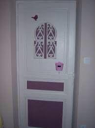 Décor de la porte ....