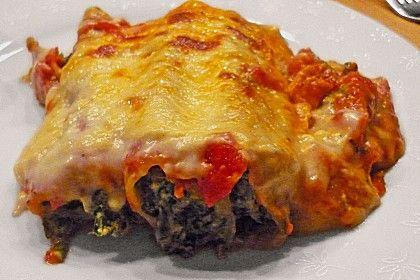Cannelloni mit Ricotta und Spinat (Rezept mit Bild) | Chefkoch.de