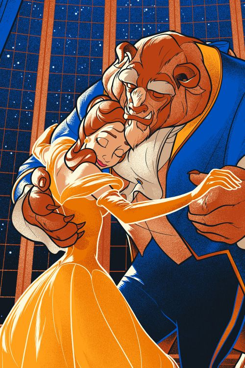 Beauty and The Beast : Martin Ansin, Illustrator | Illustration Portfolio