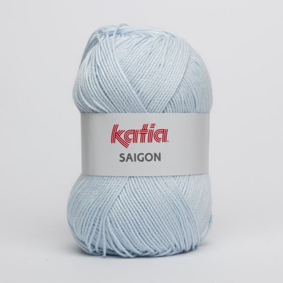 Katia Saigon color azul celeste