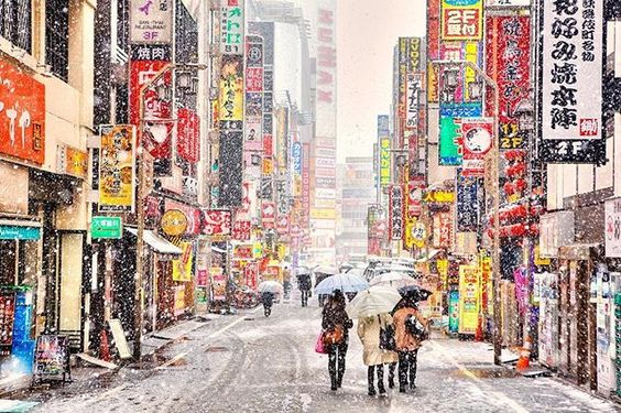 """Tokyo had its first November snow in over 50 years today. Matt Alt put it into historical perspective this way on Twitter: Last time Tokyo had November snow it was winter '62 and """"anime"""" didn't exist yet. (Astro Boy aired January 63.)"""