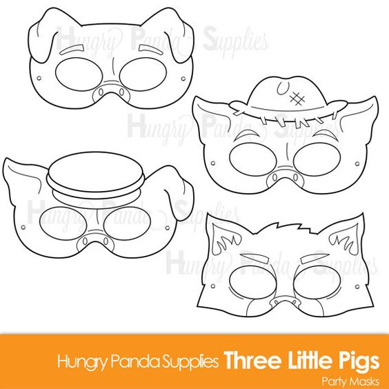 Three Little Pigs Pigs And Big Bad Wolf On Pinterest