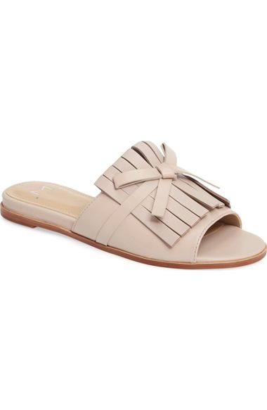 Main Image - Marc Fisher LTD Whitley Slide Sandal (Women):