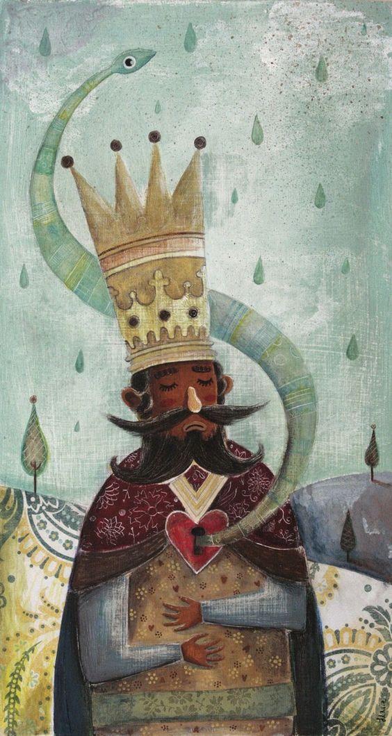 Flavia Zorrilla Drago. Diseño, ilustración y diseño de personajes. México D.F.  Obra: El Rey de Chocolate.  http://www.behance.net/diafla